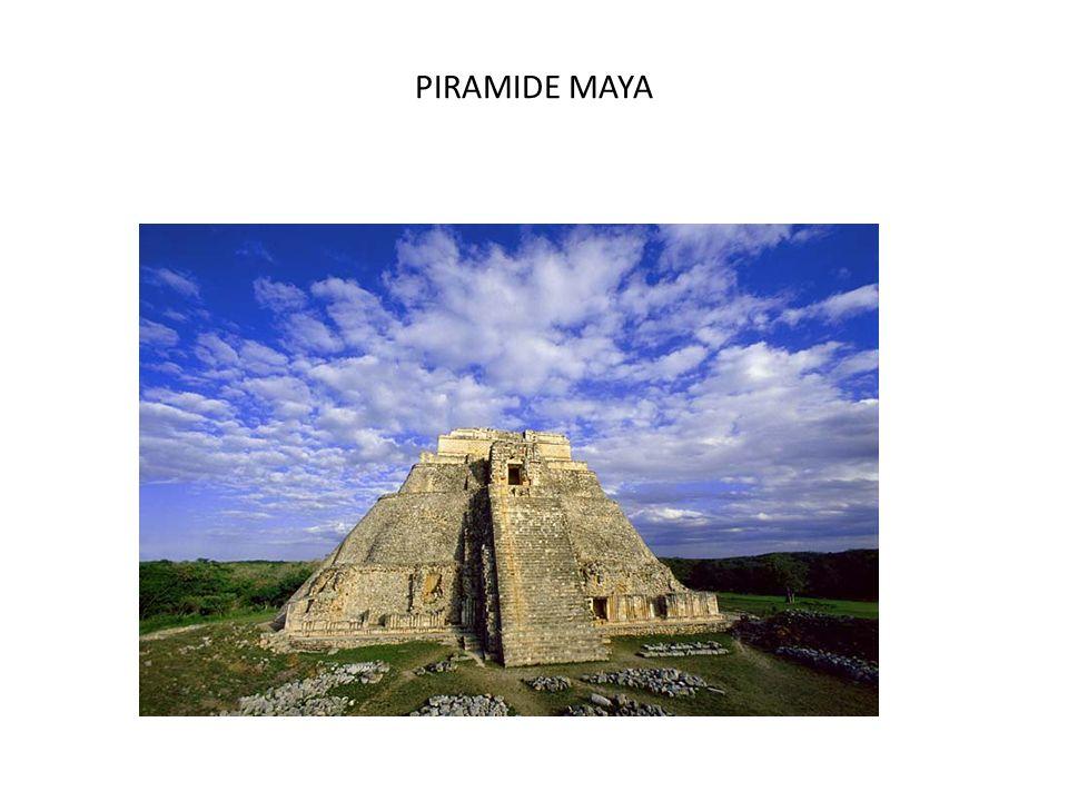 PIRAMIDE MAYA