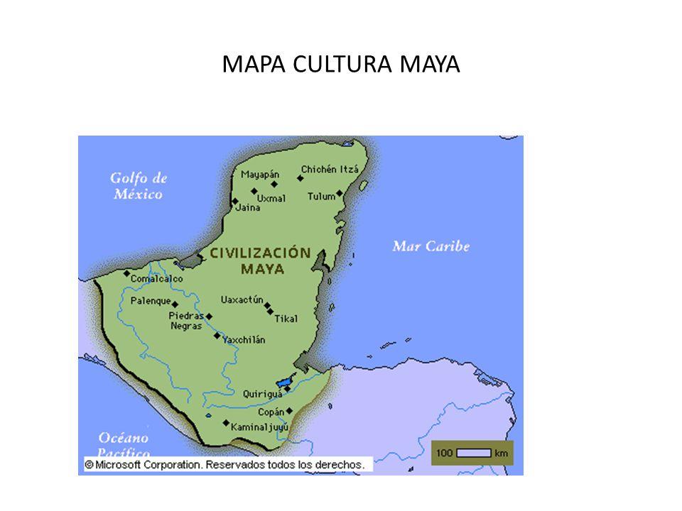 Mayas mapa bing images for Cultura maya ubicacion