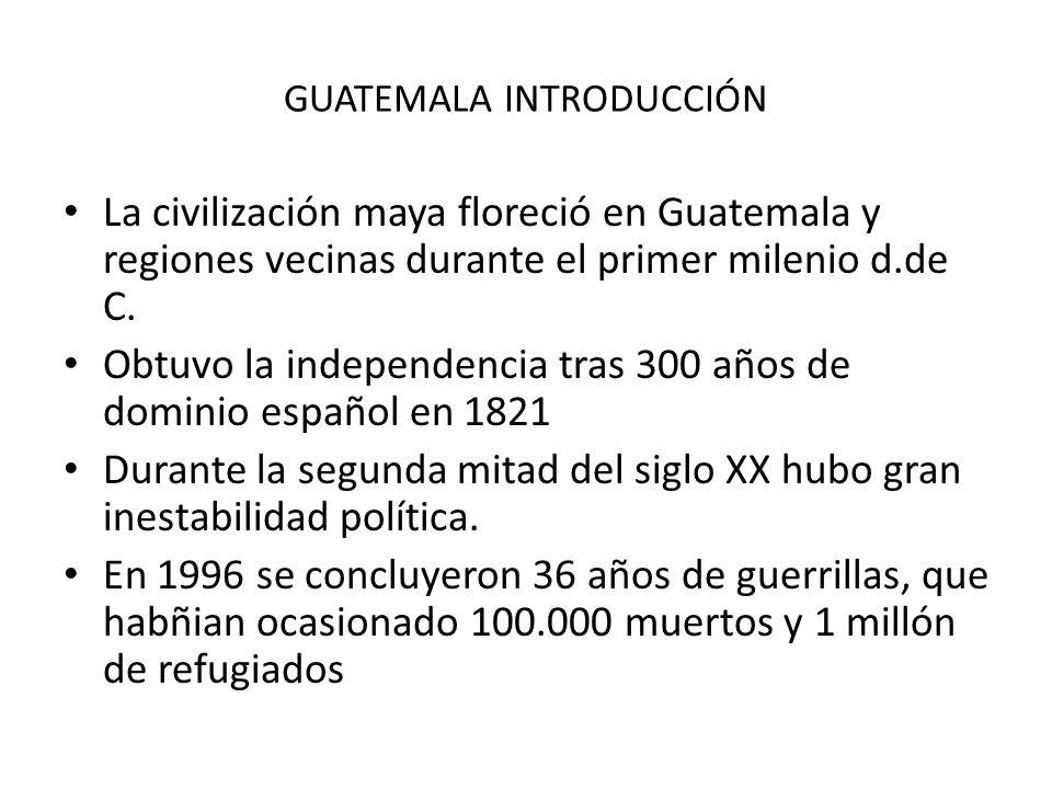 GUATEMALA INTRODUCCIÓN