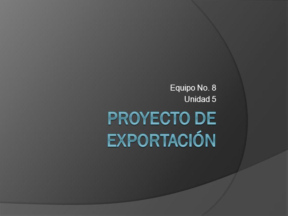 Proyecto de Exportación