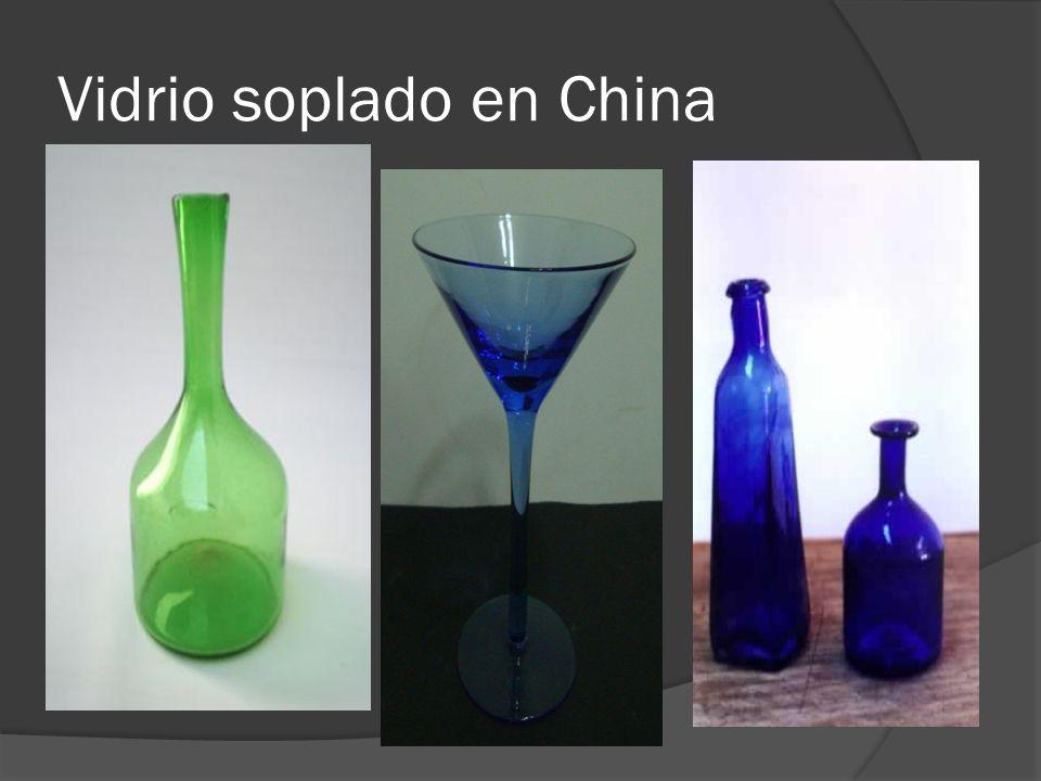 Vidrio soplado en China