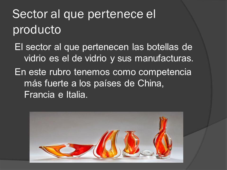 Sector al que pertenece el producto