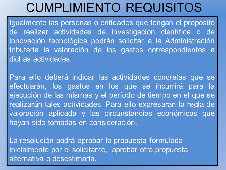 CUMPLIMIENTO REQUISITOS