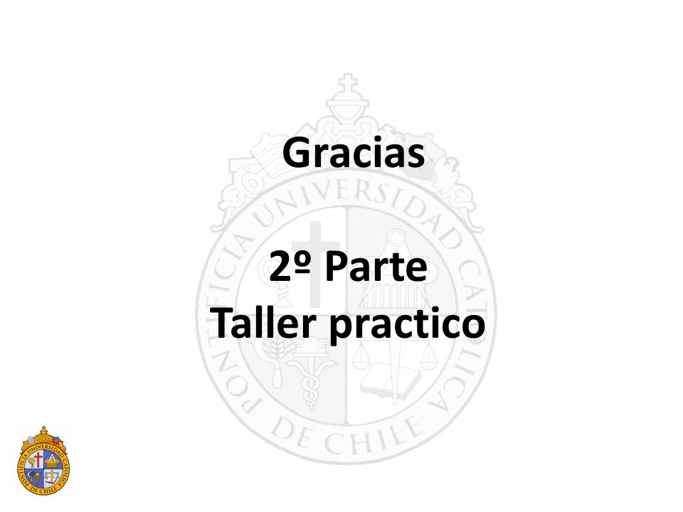 Gracias 2º Parte Taller practico