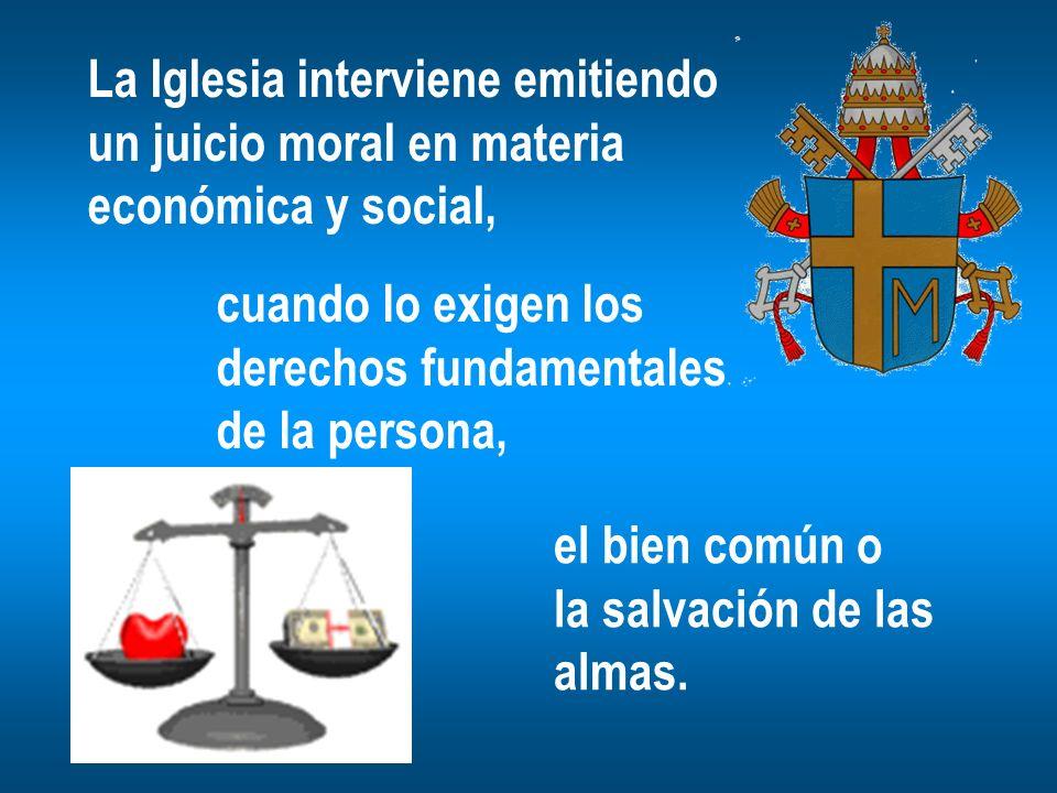 La Iglesia interviene emitiendo