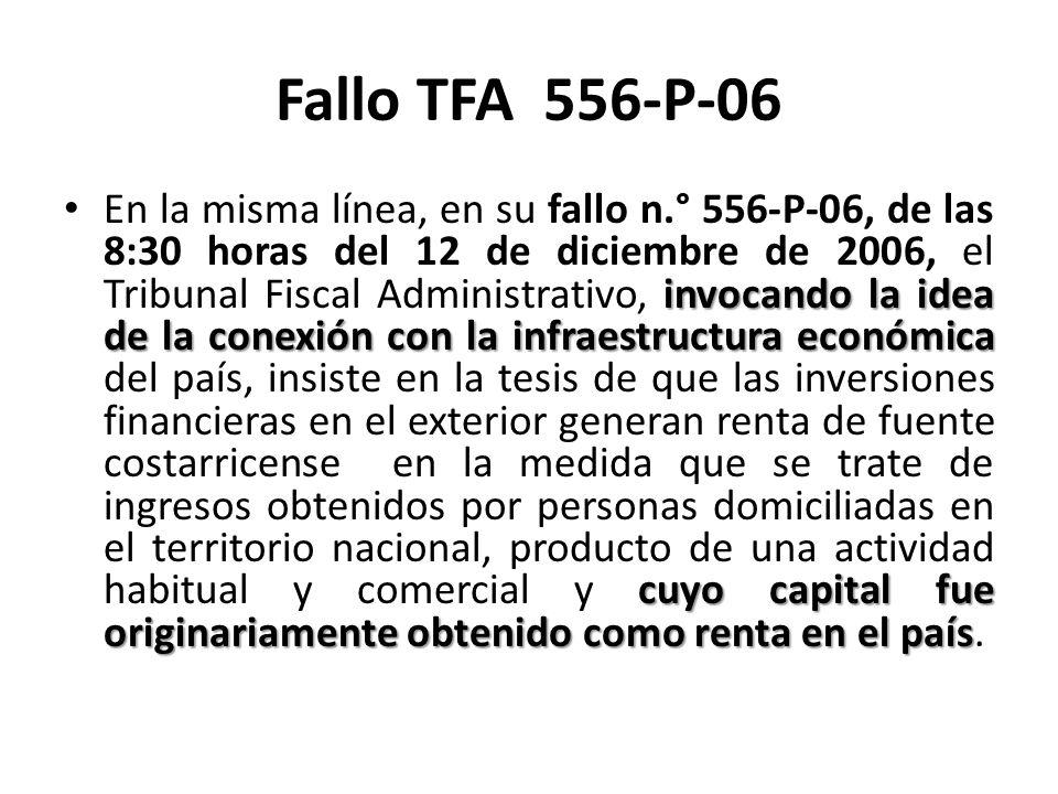Fallo TFA 556-P-06