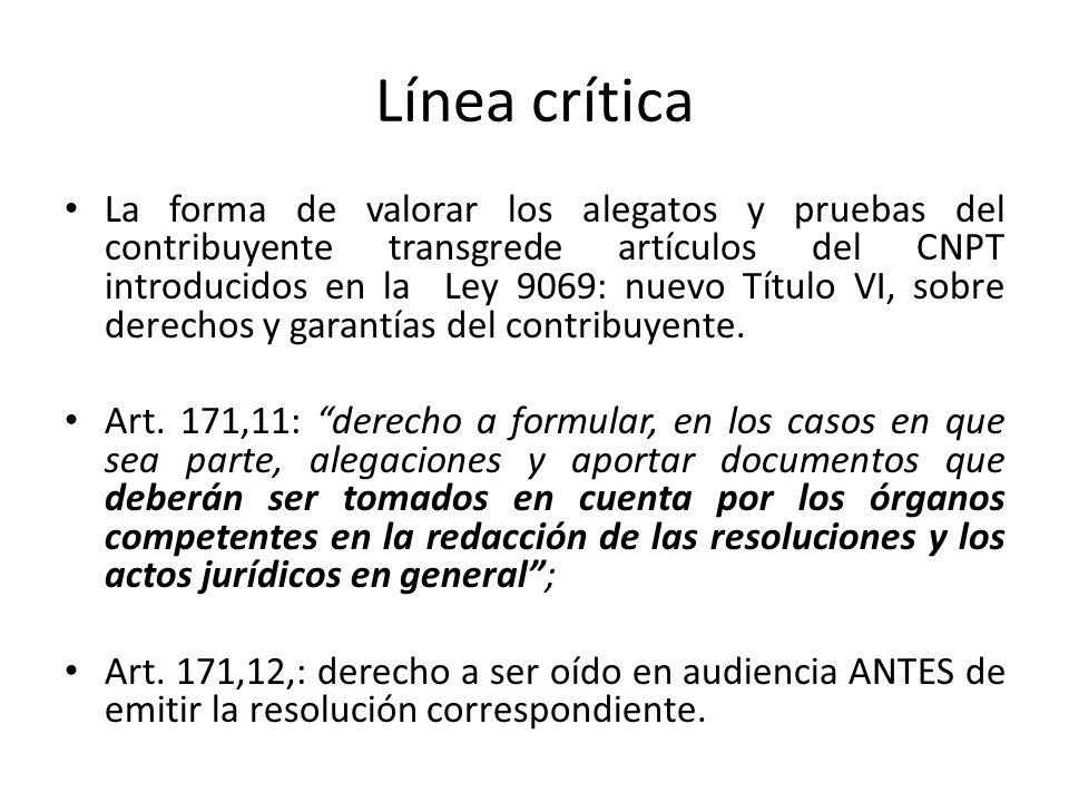 Línea crítica