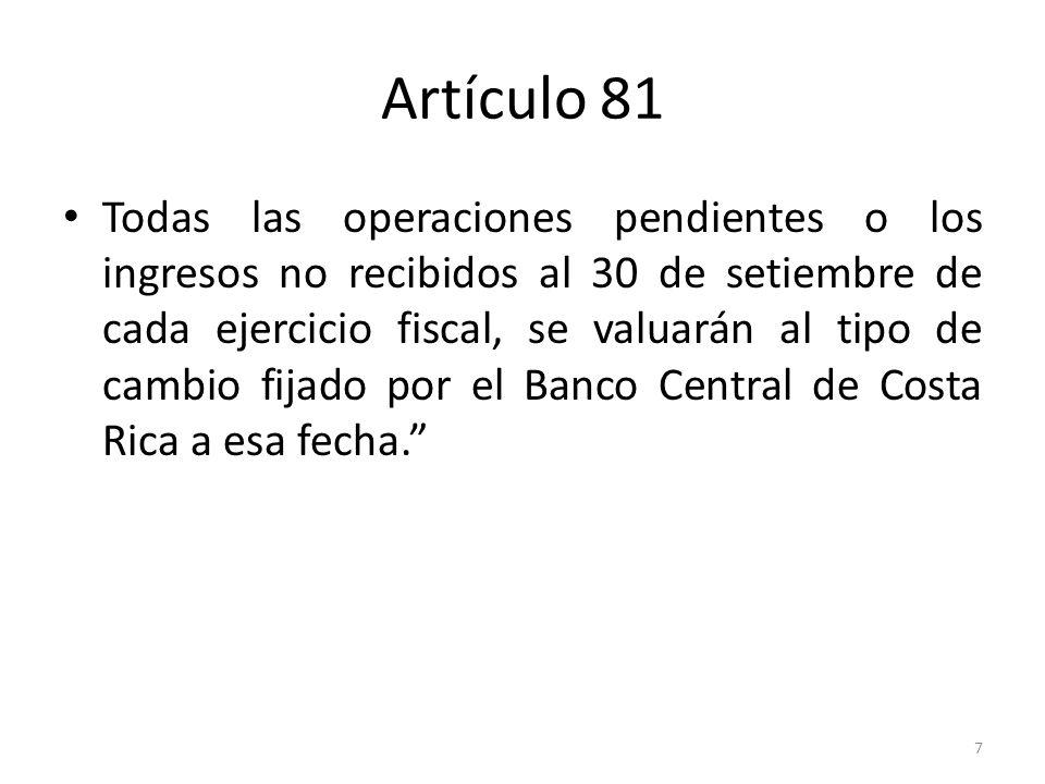Artículo 81