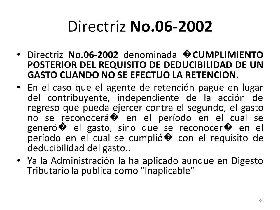 Directriz No.06-2002