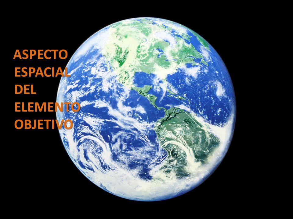 ASPECTO ESPACIAL DEL ELEMENTO OBJETIVO