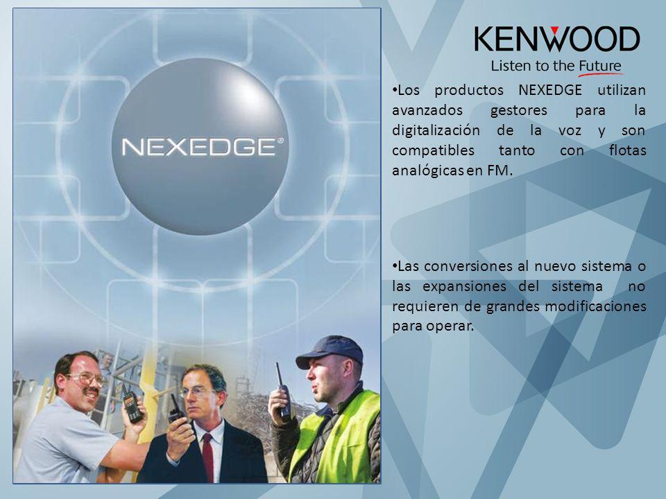 NEXEDGE Múltiples soluciones en un mismo sistema.