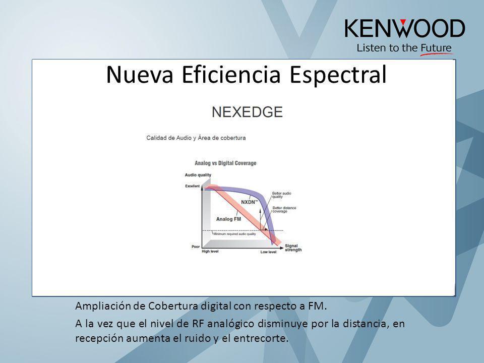 Nueva Eficiencia Espectral