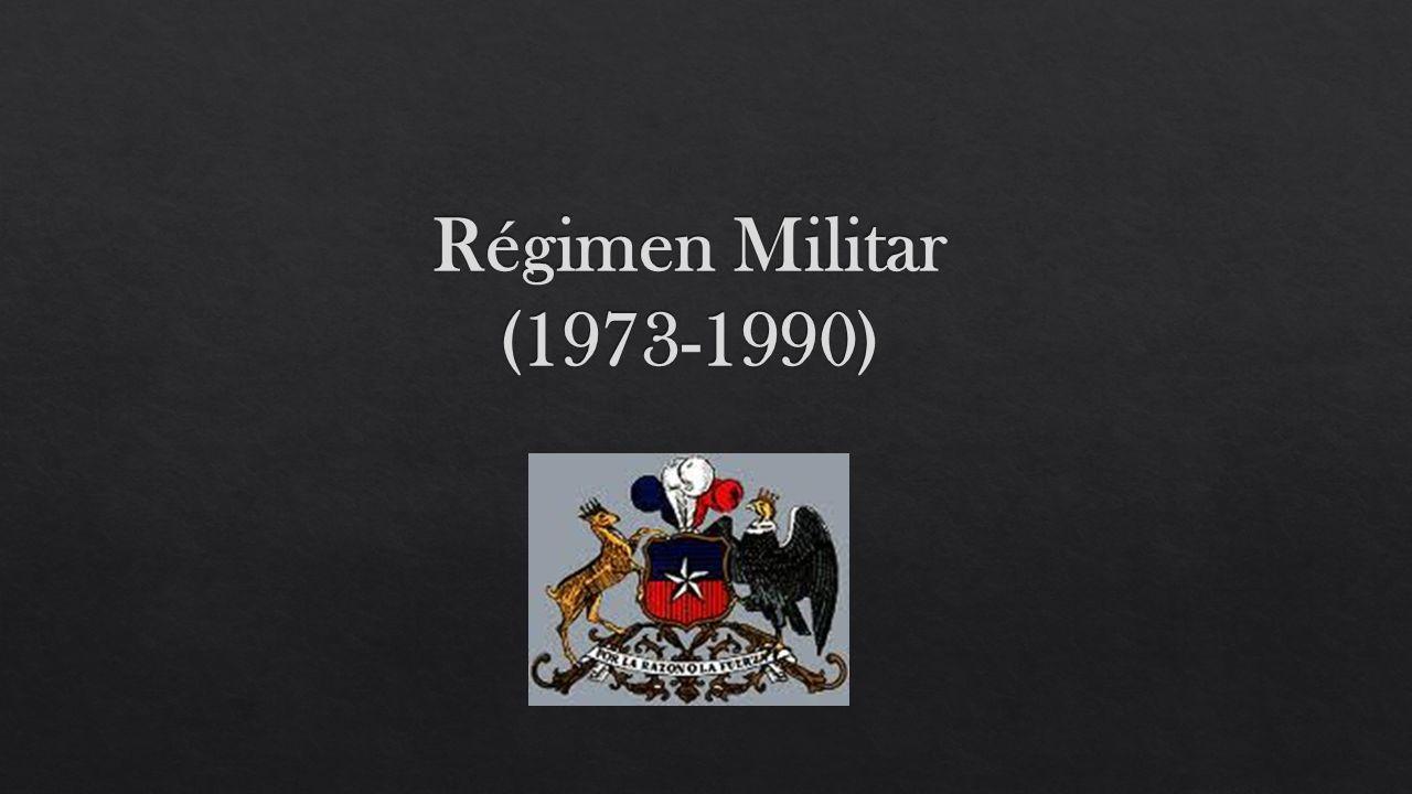Régimen Militar (1973-1990)
