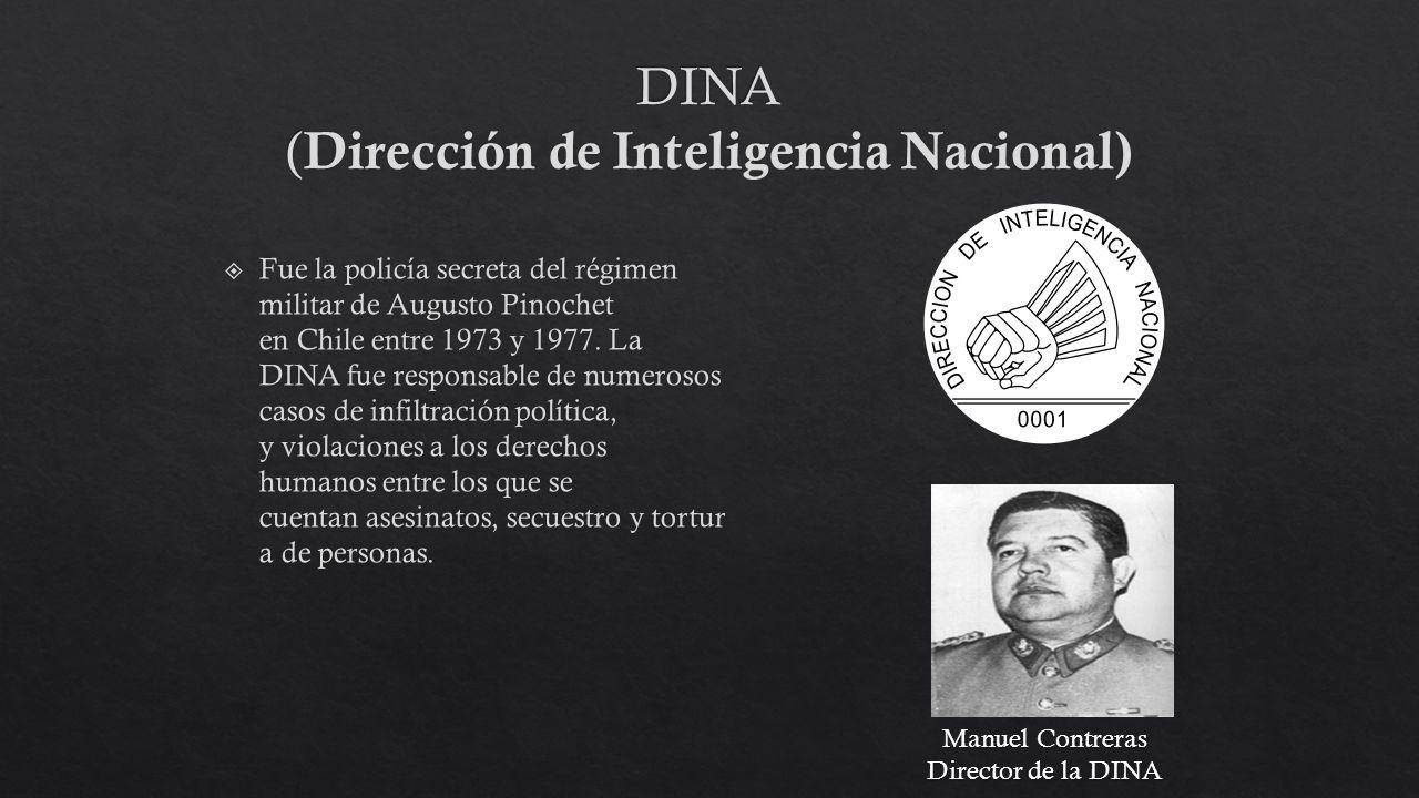 DINA (Dirección de Inteligencia Nacional)