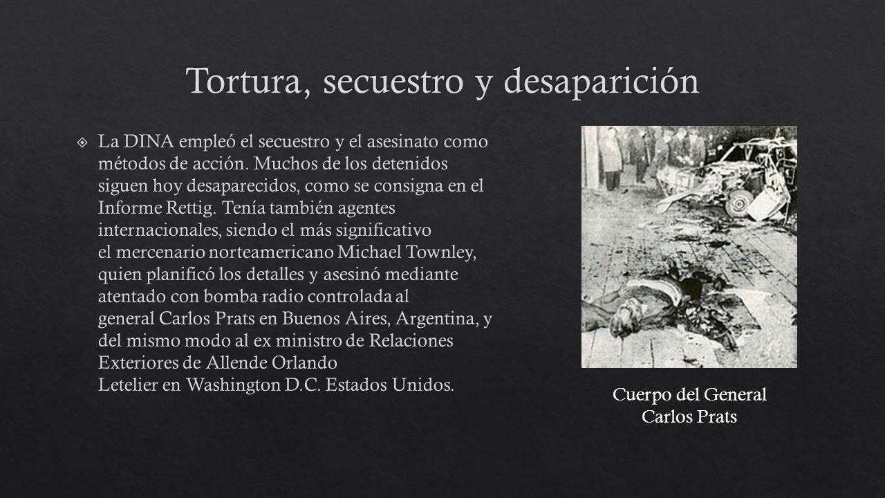 Tortura, secuestro y desaparición