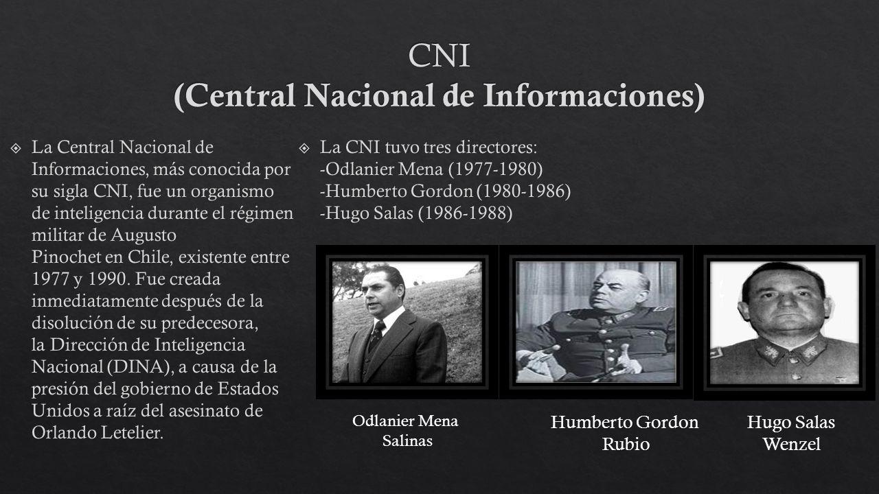 CNI (Central Nacional de Informaciones)