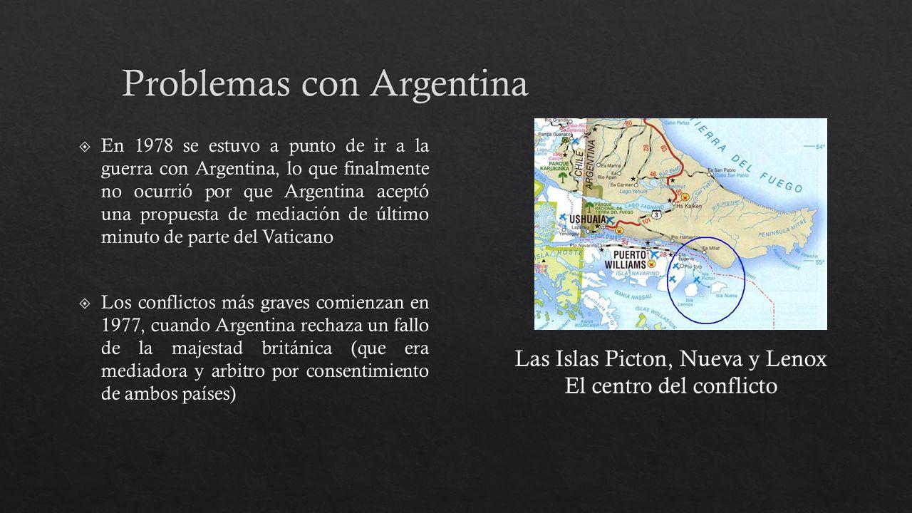 Problemas con Argentina