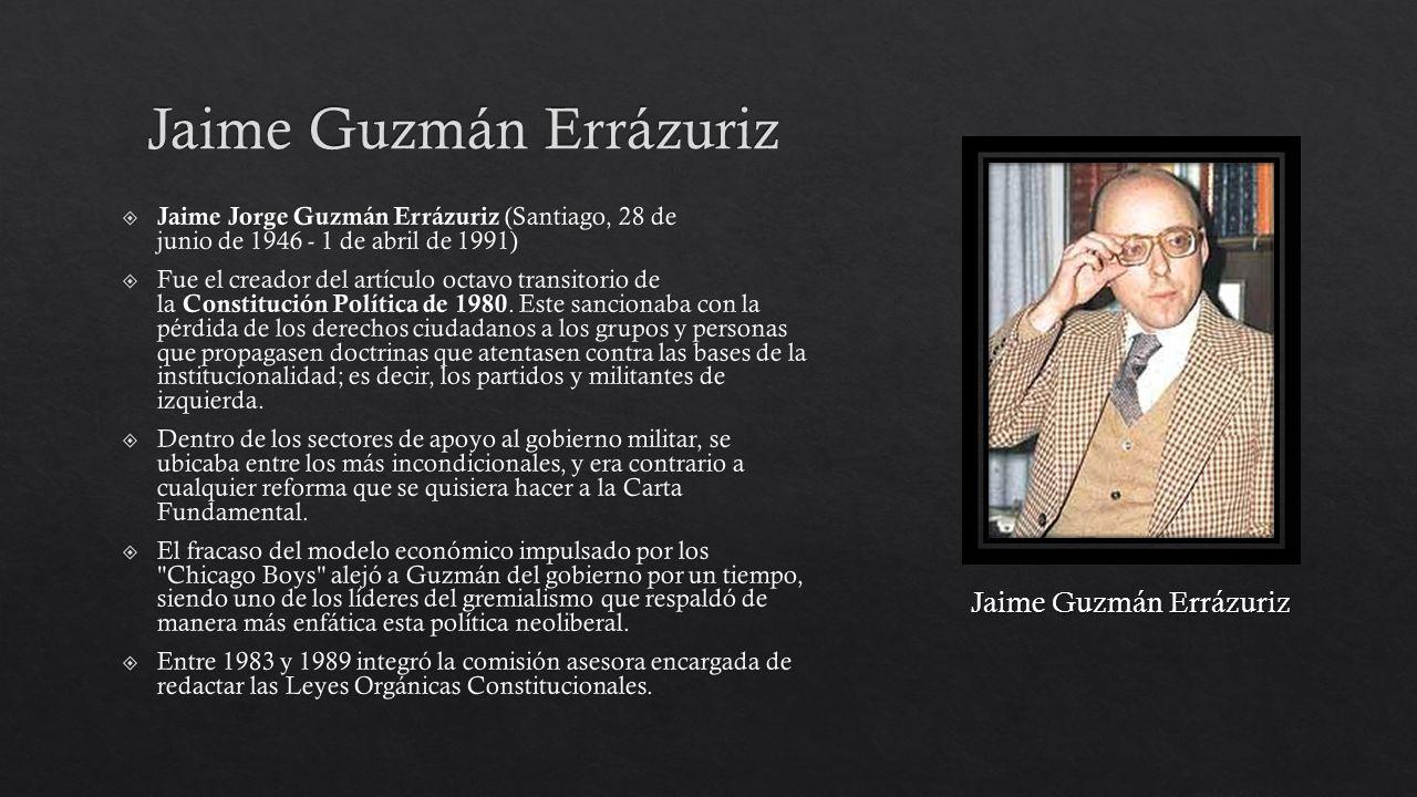 Jaime Guzmán Errázuriz