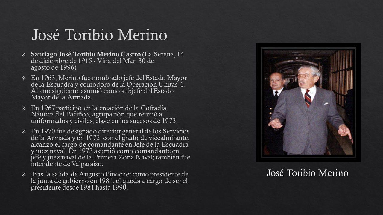 José Toribio Merino José Toribio Merino