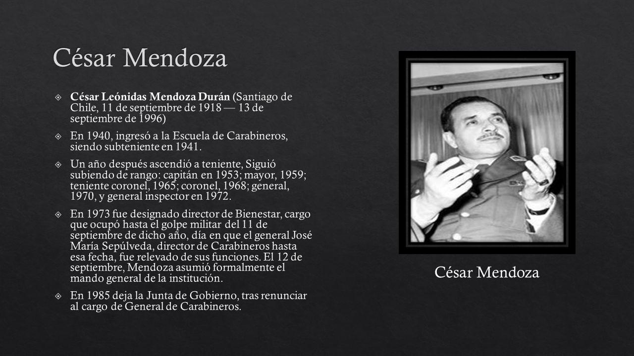 César Mendoza César Mendoza
