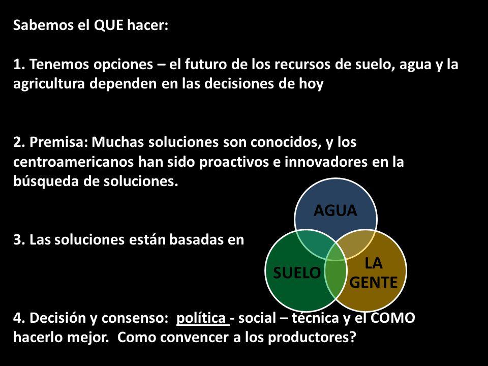 3. Las soluciones están basadas en