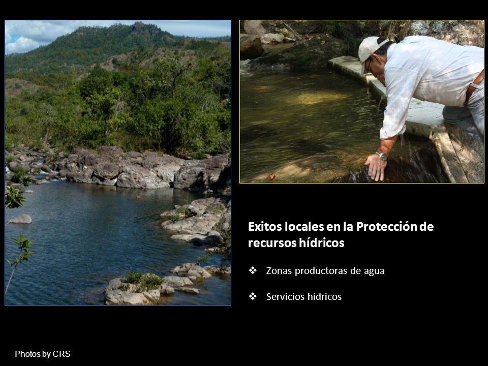 Exitos locales en la Protección de recursos hídricos