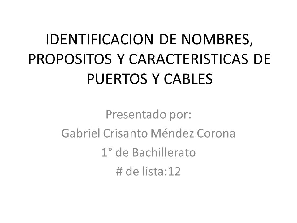 Gabriel Crisanto Méndez Corona