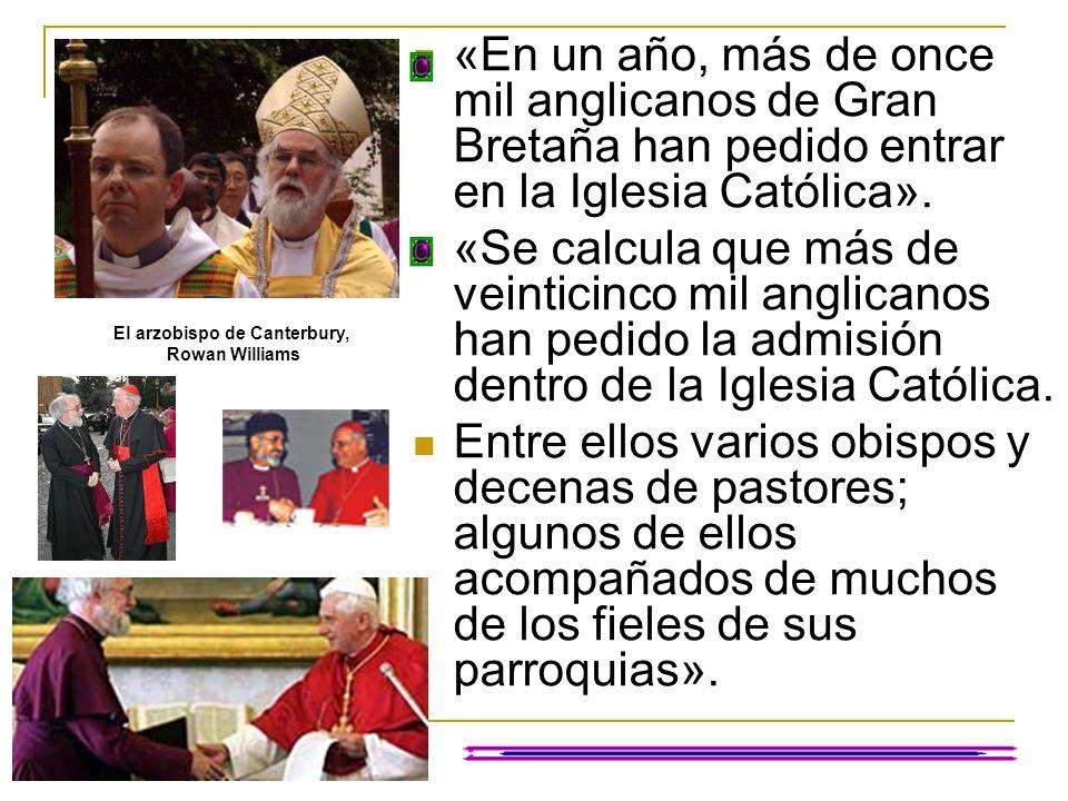 El arzobispo de Canterbury,