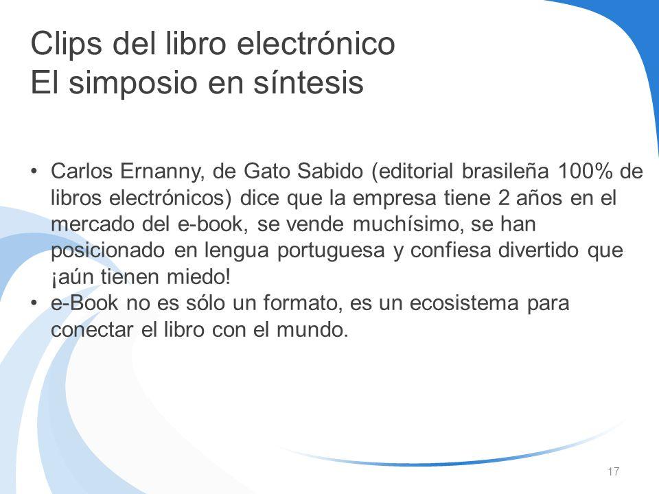 Clips del libro electrónico El simposio en síntesis