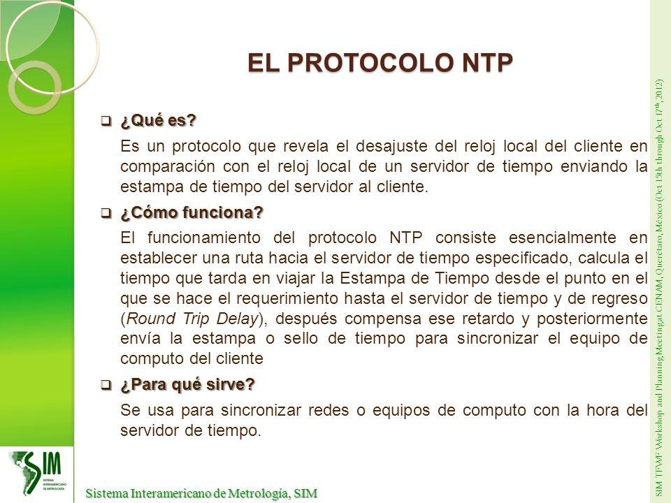 EL PROTOCOLO NTP ¿Qué es