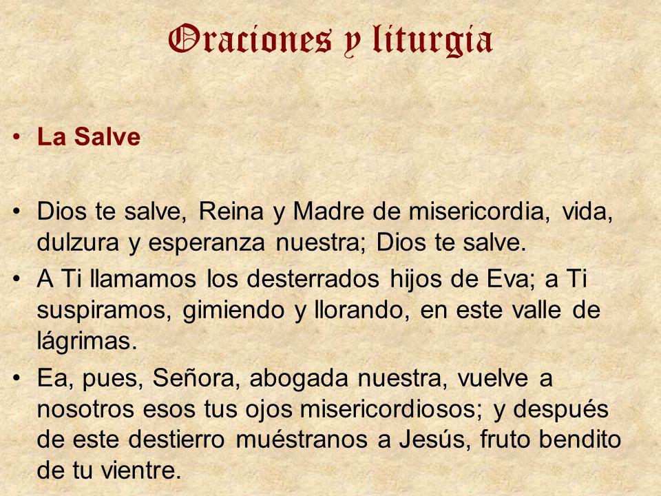 Oraciones y liturgia La Salve