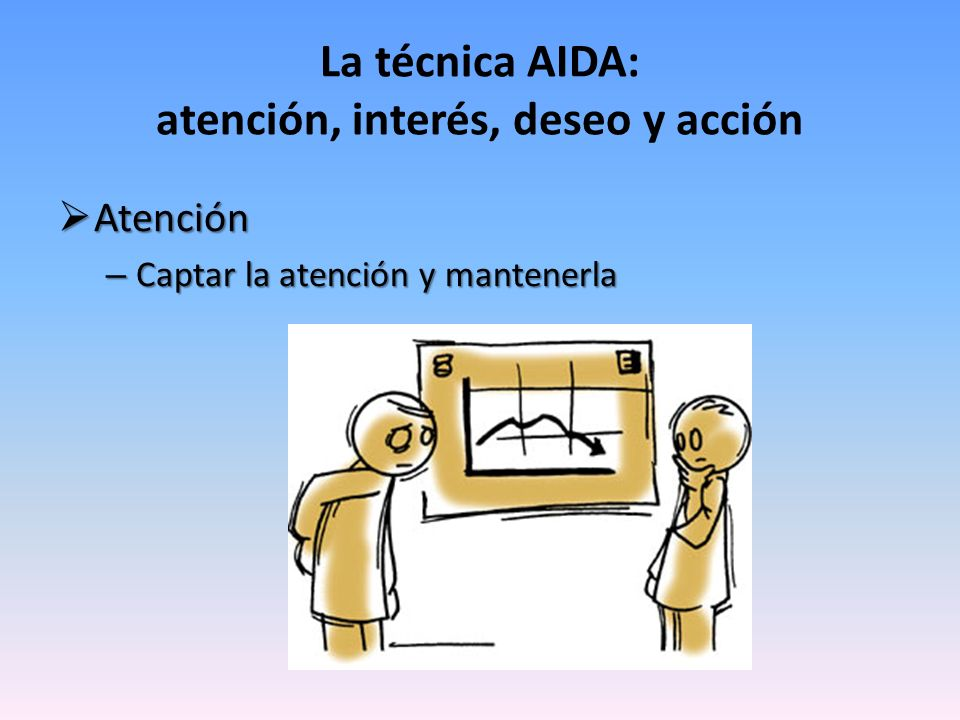 La técnica AIDA: atención, interés, deseo y acción