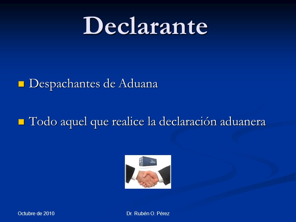 Declarante Despachantes de Aduana