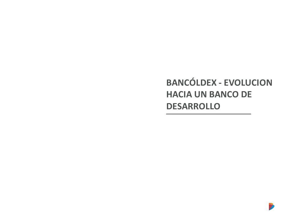 BANCÓLDEX - EVOLUCION HACIA UN BANCO DE DESARROLLO