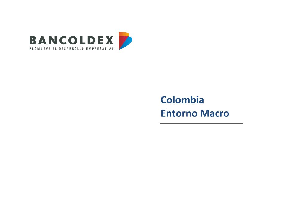 Colombia Entorno Macro