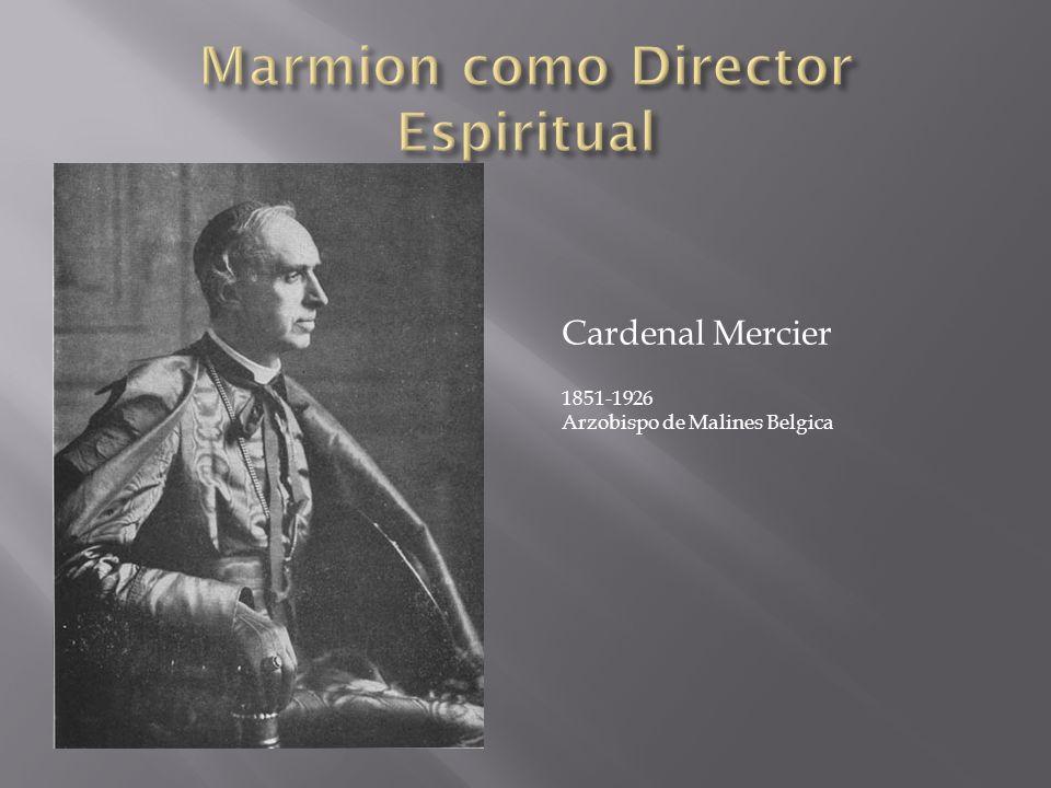 Marmion como Director Espiritual