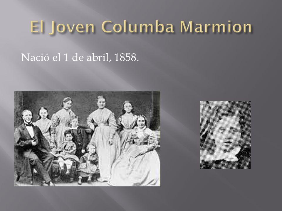 El Joven Columba Marmion