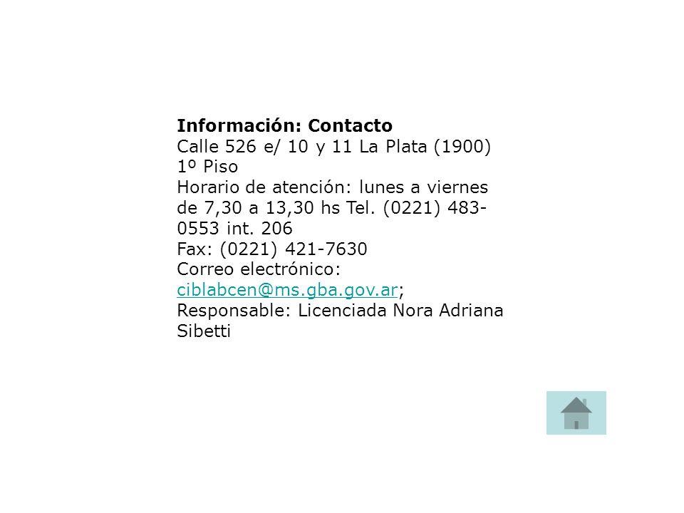 Información: Contacto