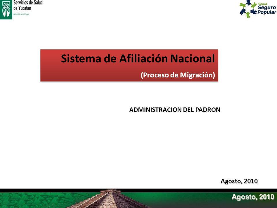 Sistema de Afiliación Nacional