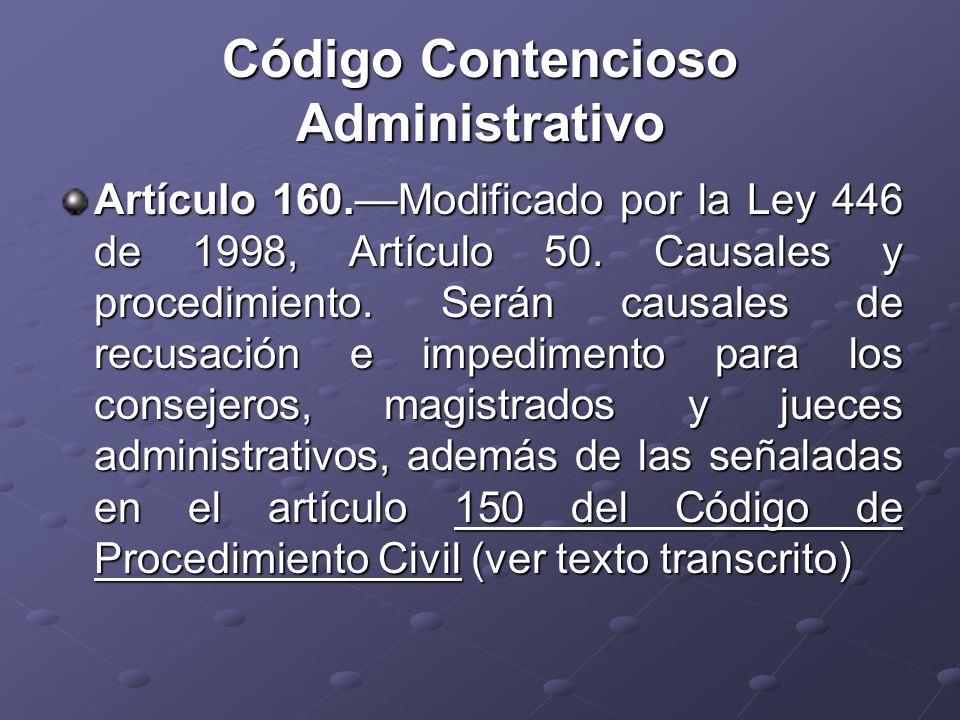 Código Contencioso Administrativo