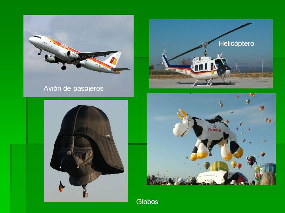 Helicóptero Avión de pasajeros Globos