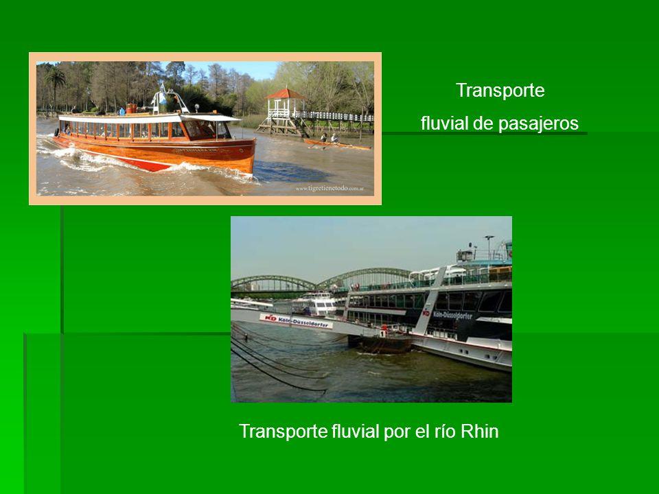Transporte fluvial por el río Rhin