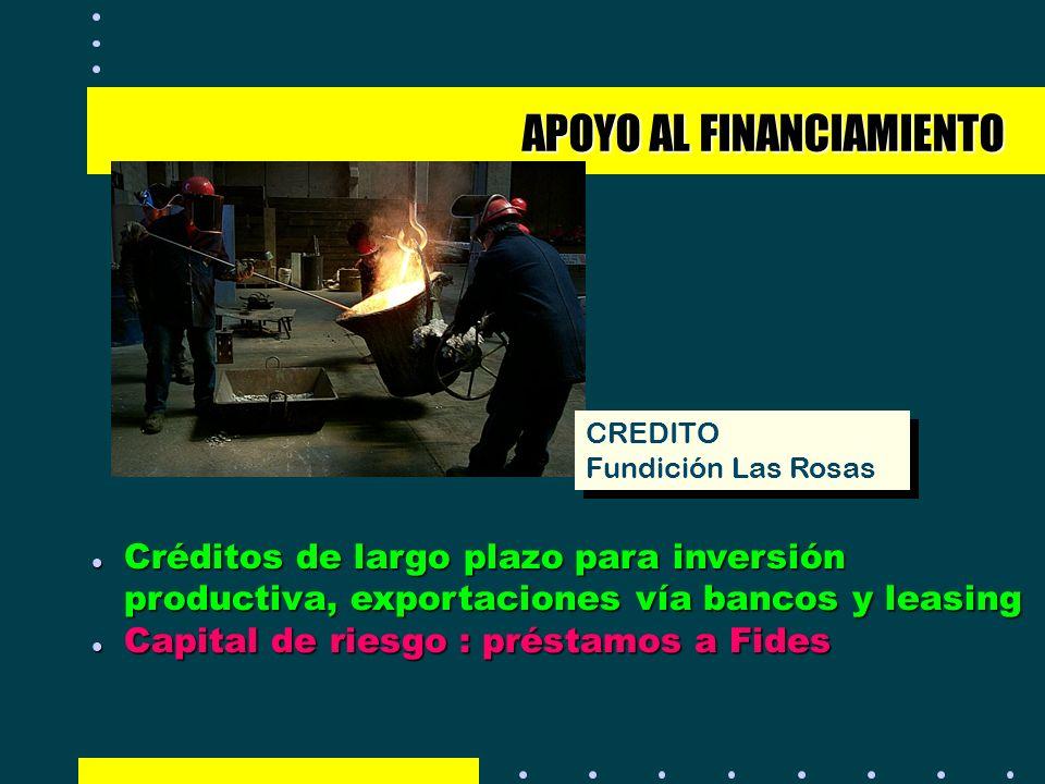 APOYO AL FINANCIAMIENTO