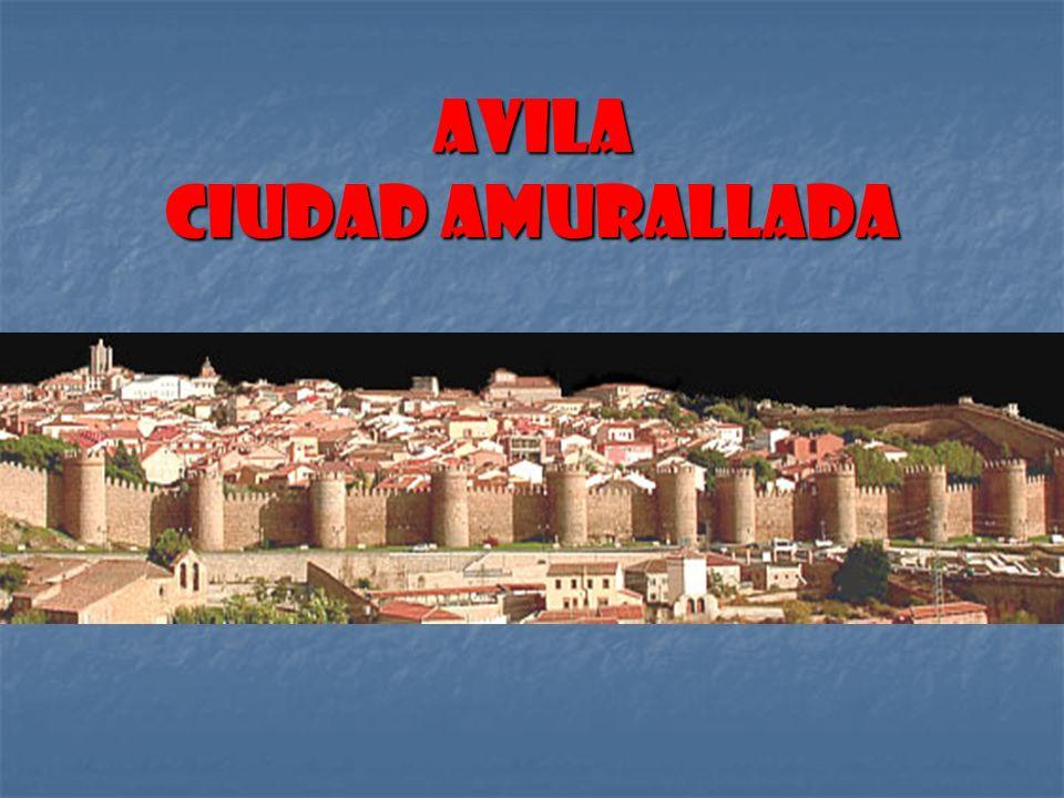 Avila Ciudad amurallada