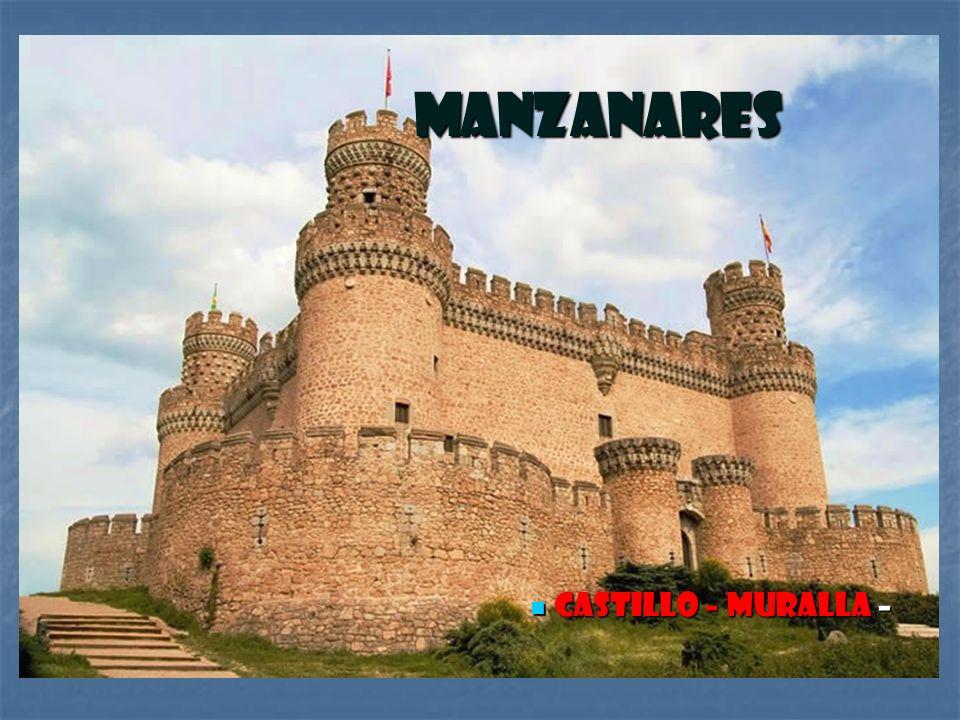 Manzanares Castillo – Muralla –