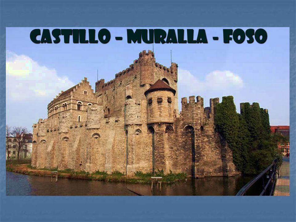 Castillo – Muralla - Foso