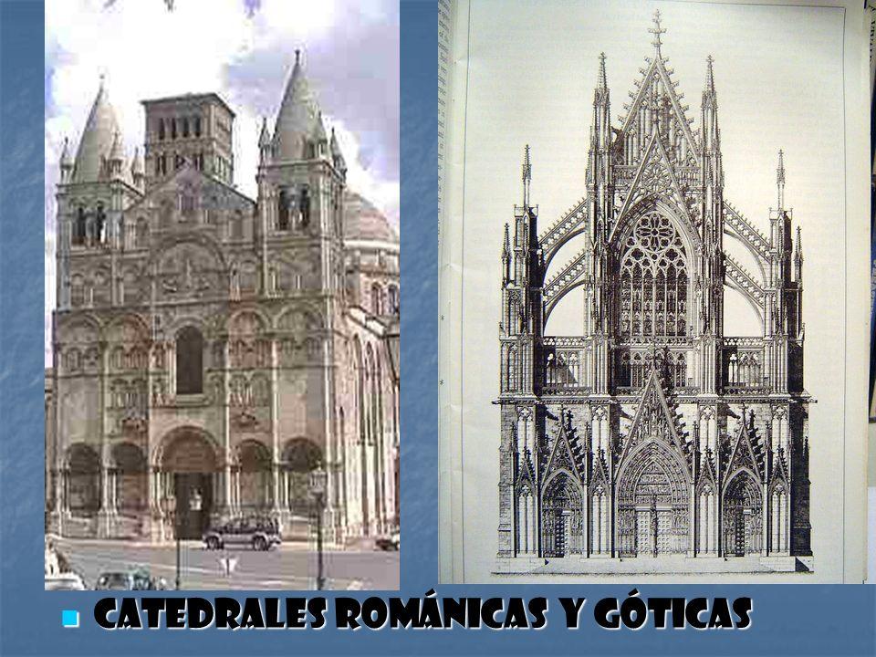 Catedrales románicas y góticas