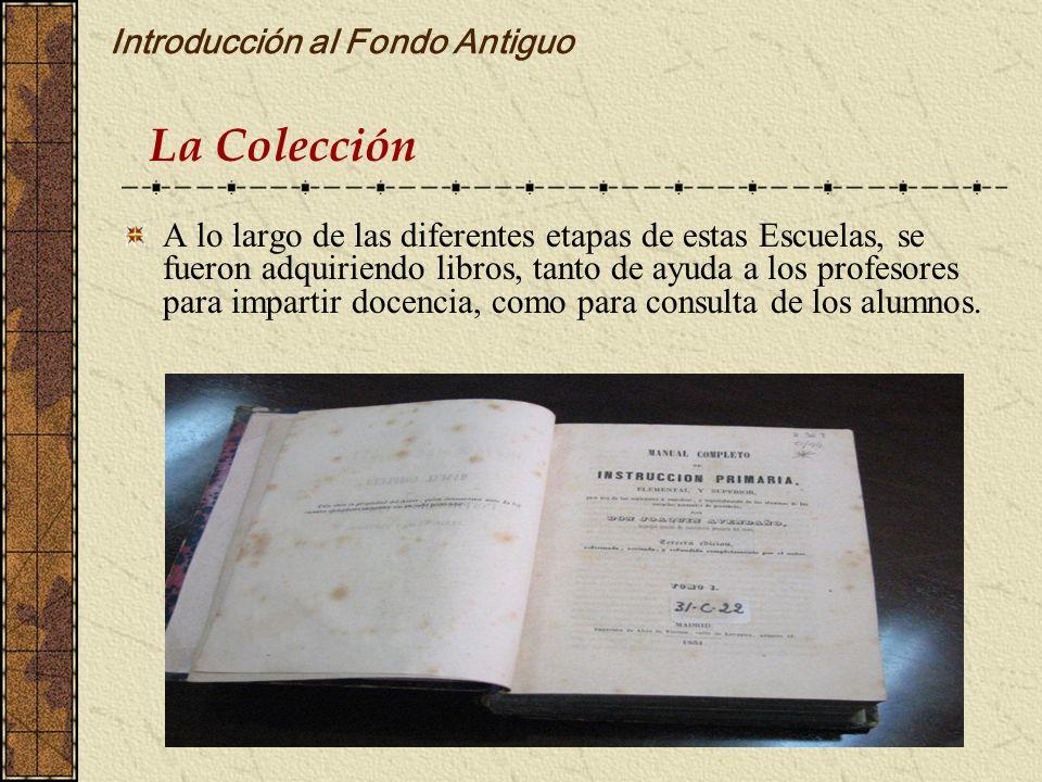 Introducción al Fondo Antiguo
