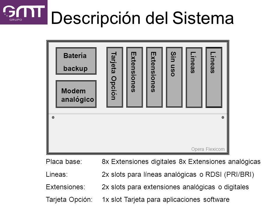Descripción del Sistema