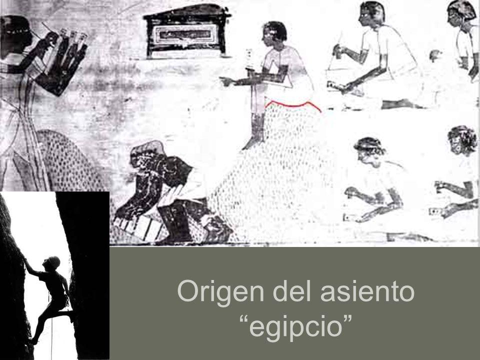 Origen del asiento egipcio